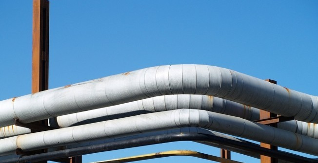HDPE Pipes in Ancton